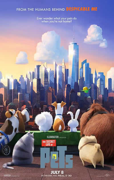 The Secret Life of Pets (SMS)
